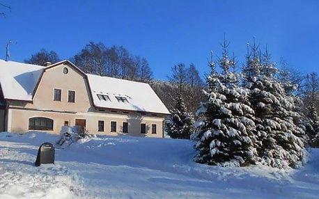 Pobyt v penzionu Vápenka v Krkonoších včetně polopenze a wellness