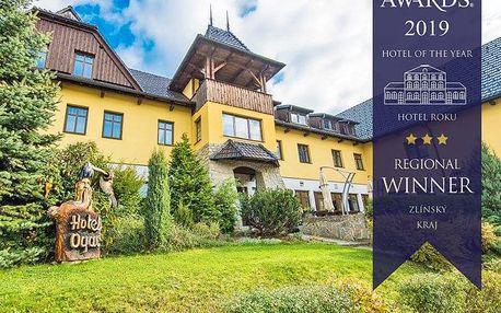Lázně Luhačovice v hotelu s polopenzí a možností pivních lázní – termíny v zimě i na jaře