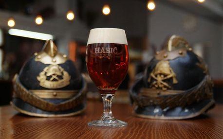 Den sládkem v pivovaru Hasič a 16 l piva domů