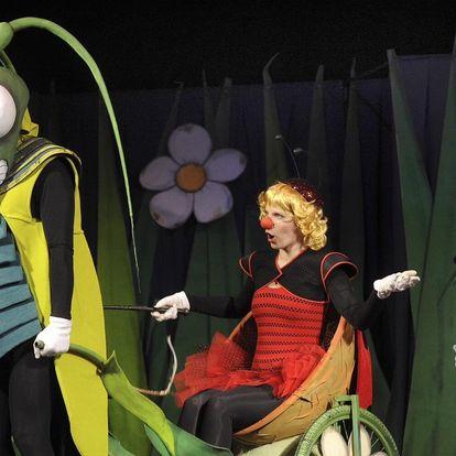 Vstupenka na dětské představení Ferda Mravenec
