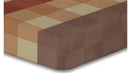 DecoKing Prostěradlo Arthur mikrovlákno, 90 x 200 cm