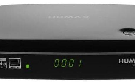 DVB-T2 přijímač HUMAX NANO T2 DVB-T2 , HEVC H.265 , HbbTV