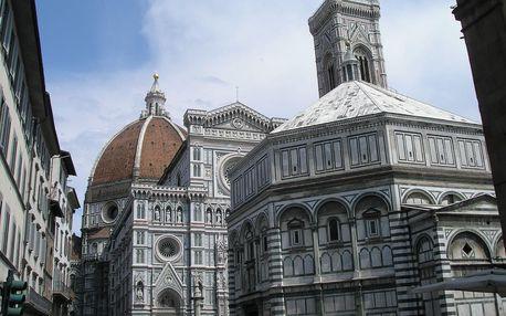 Florencie, Toskánsko, perla renesance a velikonoční slavnost ohňů, Toskánsko