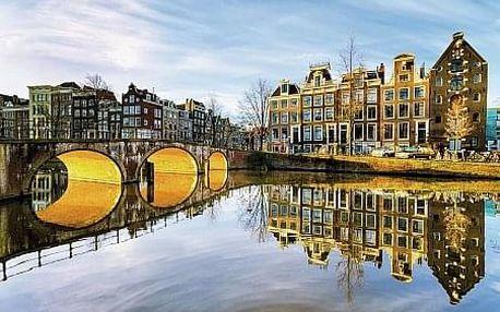 Nizozemsko - Amsterdam letecky na 3 dny, snídaně v ceně