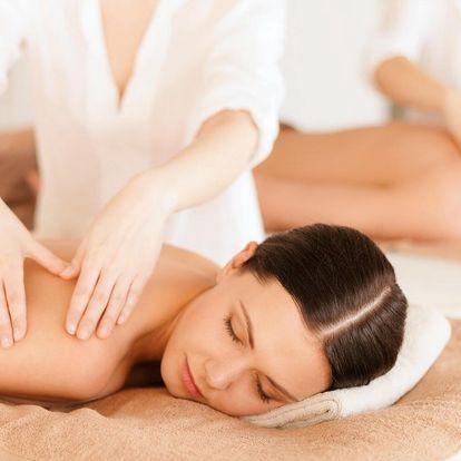 Hodina božské relaxace pro 2: výběr ze 5 masáží