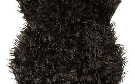 Koopman Kožešina tmavě hnědá, 50 x 90 cm