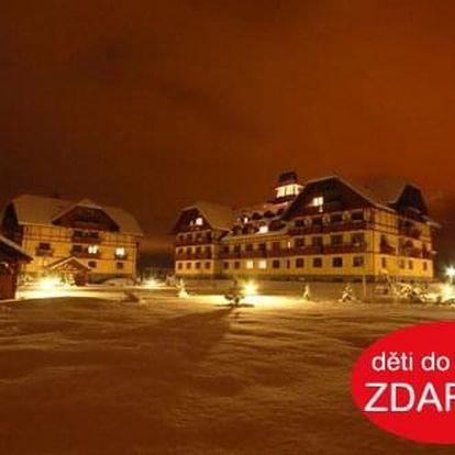 Zima v komfortních apartmánech ve Vysokých Tatrách pro CELOU RODINU