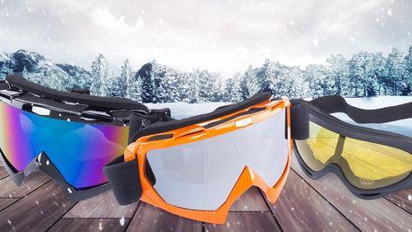 Lyžařské a snowboardové brýle české značky Kašmir