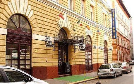 Pobyt v centru Budapešti v hotelu City Hotel Unio v pěší vzdálenosti k památkám