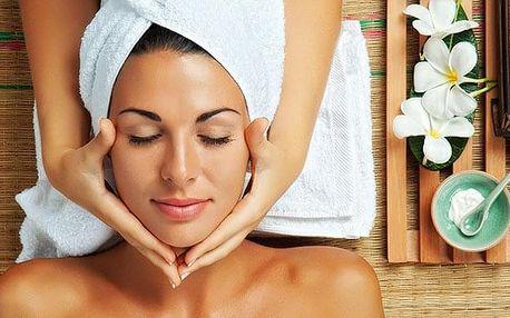 150minutový relaxační balíček pro uvolnění a omlazení pokožky