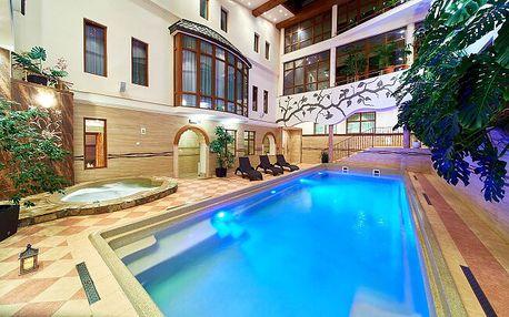 Polské Pieniny: Hotel Kinga **** u skiareálu a termálů s polopenzí + wellness