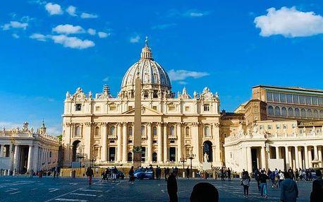 Itálie - Florencie autobusem na 6 dnů, strava dle programu