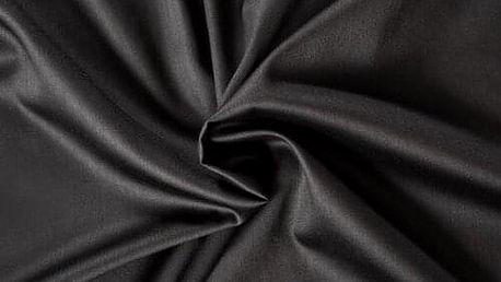 Kvalitex prostěradlo satén černé