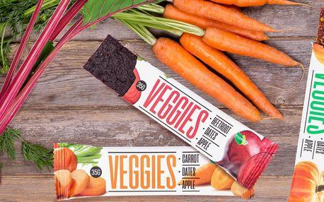 Tyčinky Veggies: zdravý mls i chutná svačina
