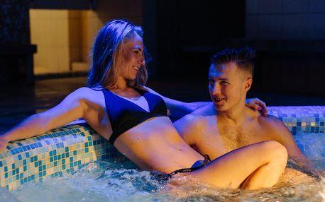 Romantická noc s 6chodovým menu, sekt i wellness
