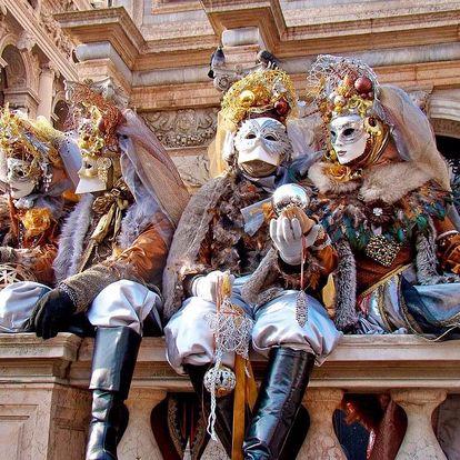 Karneval v Benátkách s Festa delle Marie, Benátsko