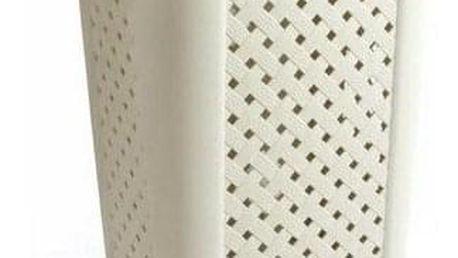 Tontarelli koš na špinavé prádlo 50L Arianna krémová 8105408210