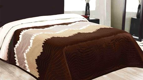 Forbyt Přehoz na postel Celiné hnědá