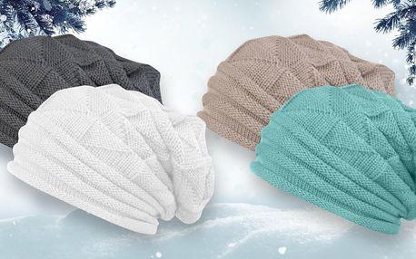Pletená dámská čepice: na výběr z 9 barev