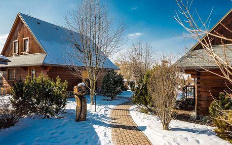 Zimní dovolená pro 4 až 6 osob v liptovském resortu Sojka