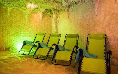 Solná jeskyně i procedury: 1× vstup či permanentka