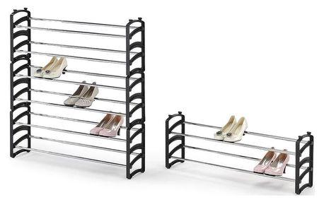ST1 stojak na obuwie, czarny (1p=6szt)