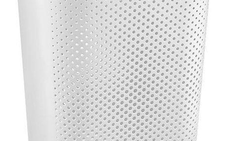 CURVER 41084 Koš na špinavé prádlo s víkem 59L koš na prádlo - bílý