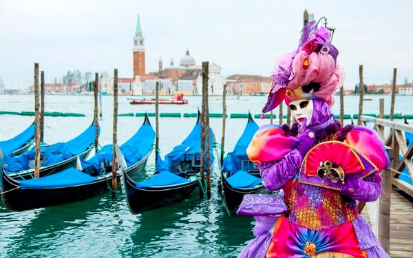 Karneval v Benátkách s Festa delle Marie, Benátsko, autobusem, bez stravy2