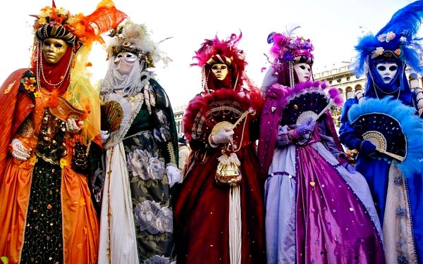 Karneval v Benátkách s Festa delle Marie, Benátsko, autobusem, bez stravy5