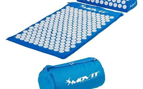 Movit akupresurní podložka s polštářem 75 x 44 cm světle modrá DS50144620