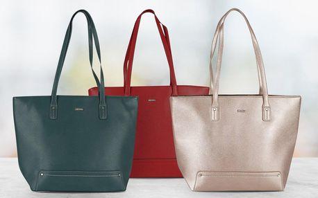 Prostorné dámské kabelky David Jones, 7 barev