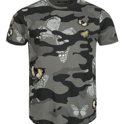 Pánské volnočasové tričko BRAVE SOUL