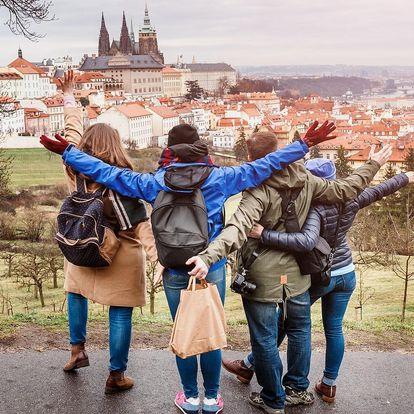 Zimní Praha: penzion se snídaněmi v centru města