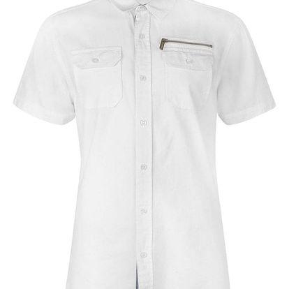 Pánská bavlněná košile s krátkým rukávem Lee Cooper