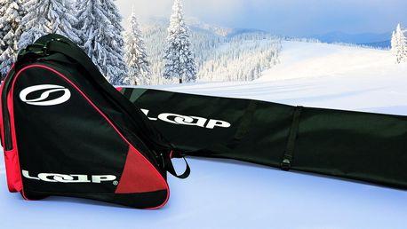 Lyžařský vak Loap na lyže i taška na přezkáče