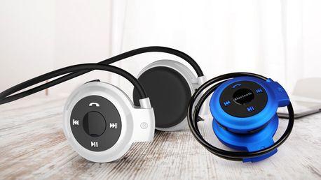 Sportovní bezdrátová bluetooth sluchátka Wodasound