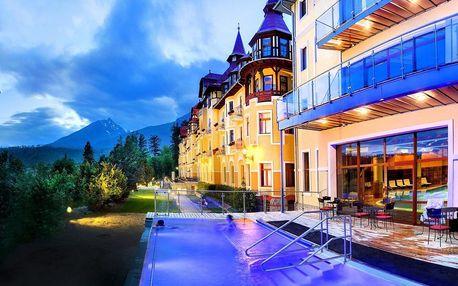 Exkluzivní pobyt v Tatrách v pohádkovém hotelu v secesním stylu, Vysoké Tatry