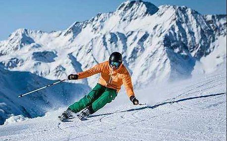 Výborný zimní pobyt v Alpách jižního Tyrolska s polopenzí a wellness v 4 * hotelu