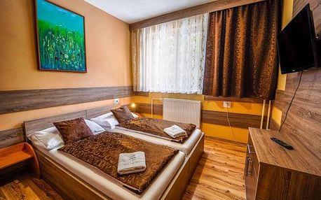 Nízké Tatry u skiareálů a Tatralandie: Penzion Limba *** s polopenzí a bazénem