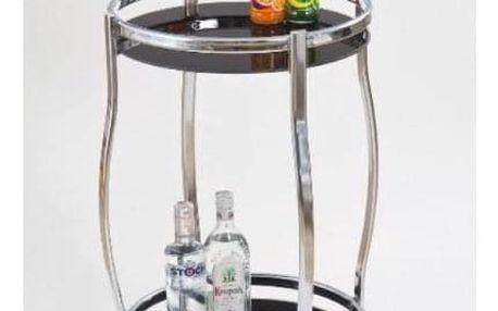 Barový stolek Bar-8 černá