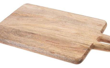 Prkénko z mangového dřeva 39 x 25 x 2,2 cm