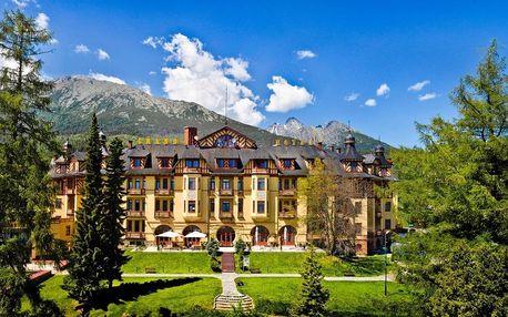 Akciový wellness pobyt v exkluzivním historickém hotelu ve Vysokých Tatrách, Vysoké Tatry