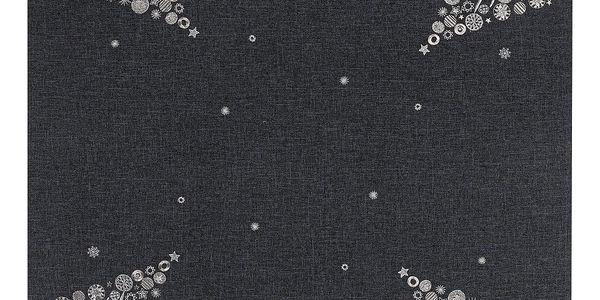 BO-MA Trading Vánoční ubrus s výšivkou, 85 x 85 cm