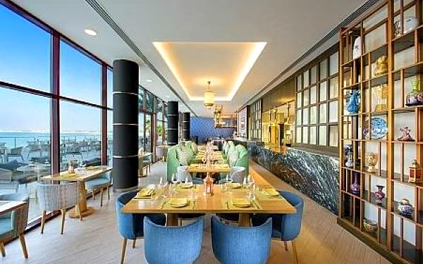 DoubleTree by Hilton Resort & Spa Marjan Island léto, Arabské emiráty, letecky, polopenze2