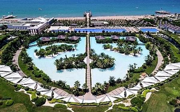 Maxx Royal Belek Golf Resort, Turecká riviera, letecky, all inclusive