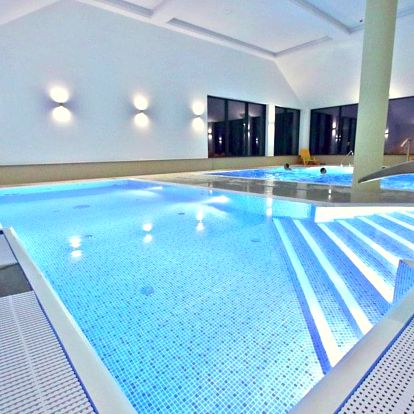 Polonica-Zdrój, luxusní hotel Nowy Zdrój**** s bazény a saunovým světem