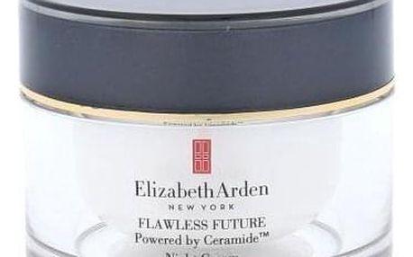 Elizabeth Arden Flawless Future Powered By Ceramide 50 ml noční pleťový krém proti známkám stárnutí pro ženy