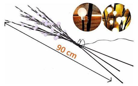 Nexos 1119 Dekorativní LED osvětlení - teple bílé, 48 LED diod, 90 cm