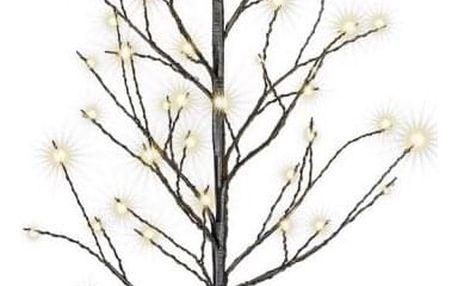 Nexos 64262 Dekorativní LED světelný strom s 48 LED, 60 cm - černý