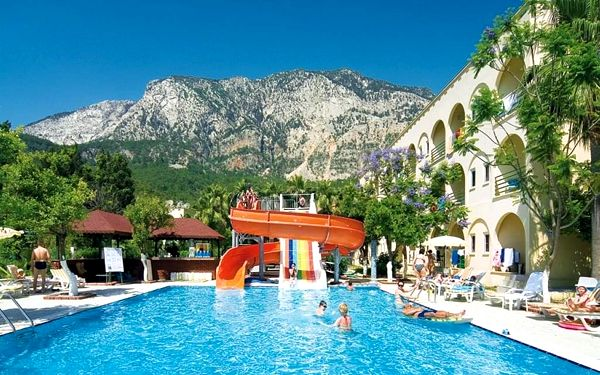 GOLDEN SUN, Kemer, letecky, all inclusive